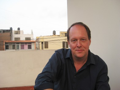Writer Greg Beaubien, author of sensual thriller novel Shadows the Sizes of Cities