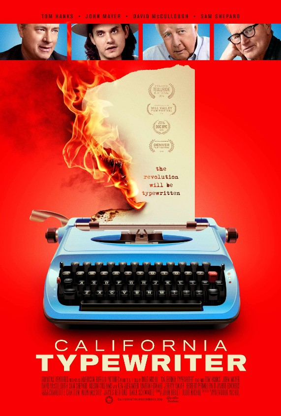 California Typewriter movie poster
