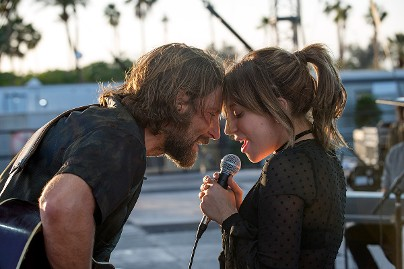 Lady Gaga, Bradley Cooper in movie A Star is Born