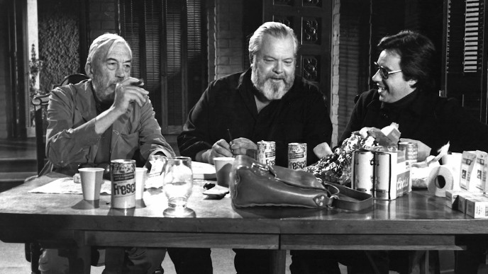 John Huston Orson Welles Peter Bogdanovich The Other Side of the Wind