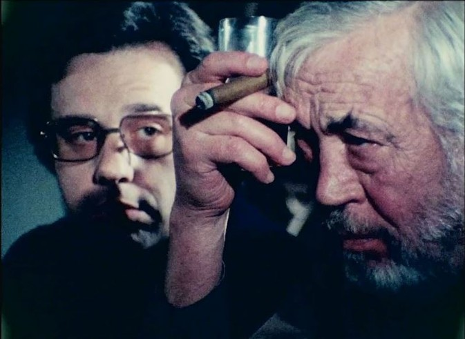 Peter Bogdanovich John Huston The Other Side of the Wind