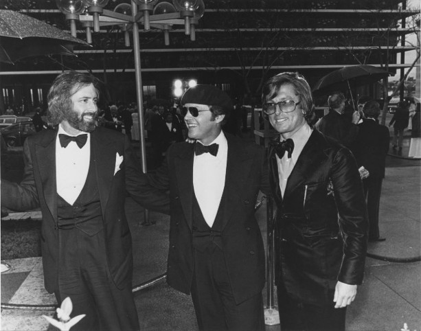 Robert Towne, Jack Nicholson, Robert Evans arrive at Academy Awards hoping for 'Chinatown' wins